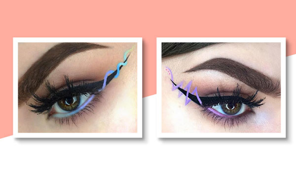 ribbon eyeliner trend eye makeup tips bebeautiful. Black Bedroom Furniture Sets. Home Design Ideas