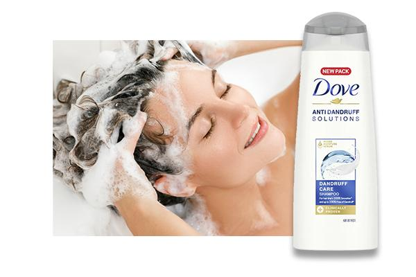 Look for products with antifungal ingredients - get rid of dandruff