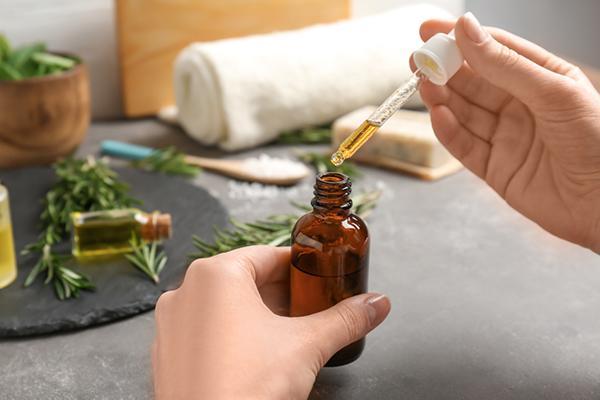 Essential oils work well too - get rid of dandruff