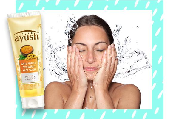 01. Cleanse with an antimicrobial wash