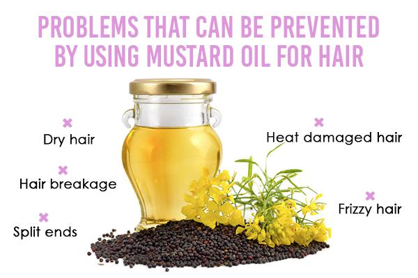 Benefits of using mustard oil for the hair
