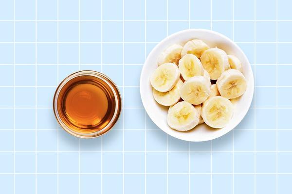 Mustard oil and banana hair pack