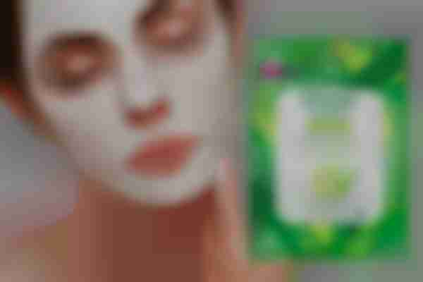 Treat your skin with a mask