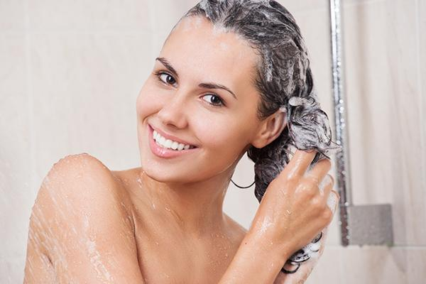 Reduce the number of times you wash your hair