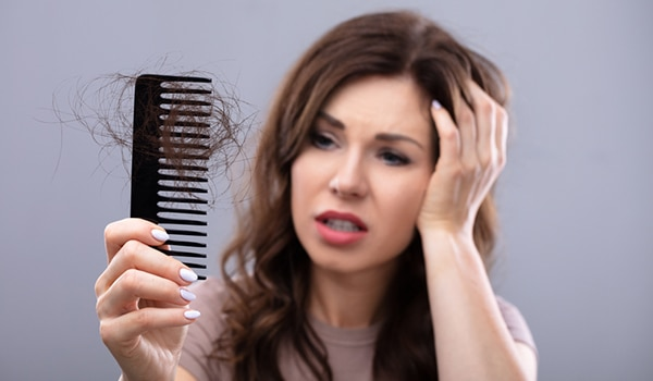 Image result for is comb reason for hairfall